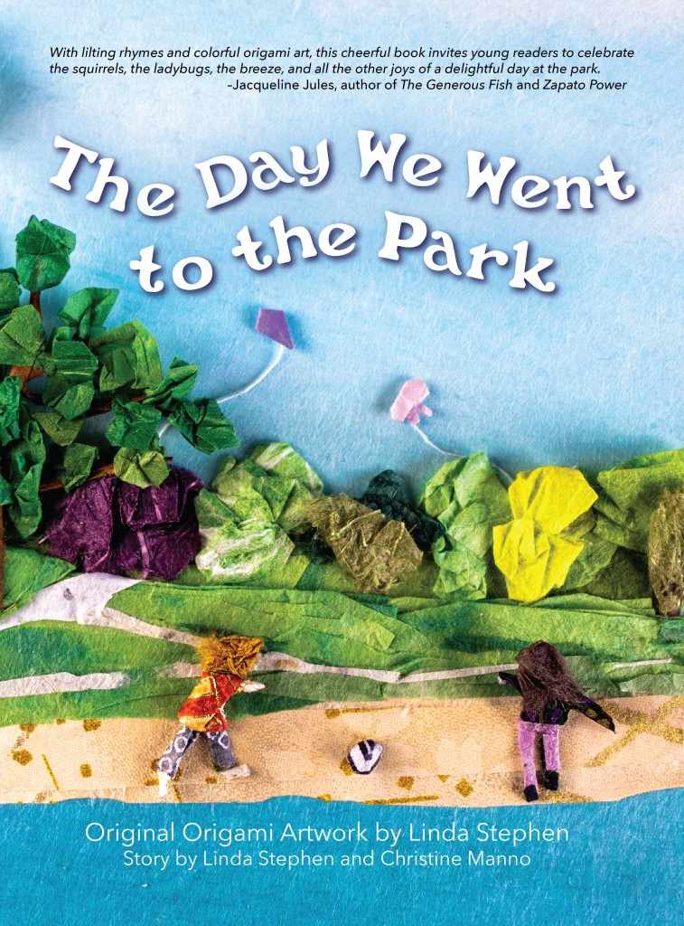 Front cover for picture book The Day We Went to the Park by Linda Stephen and Christine Manno.